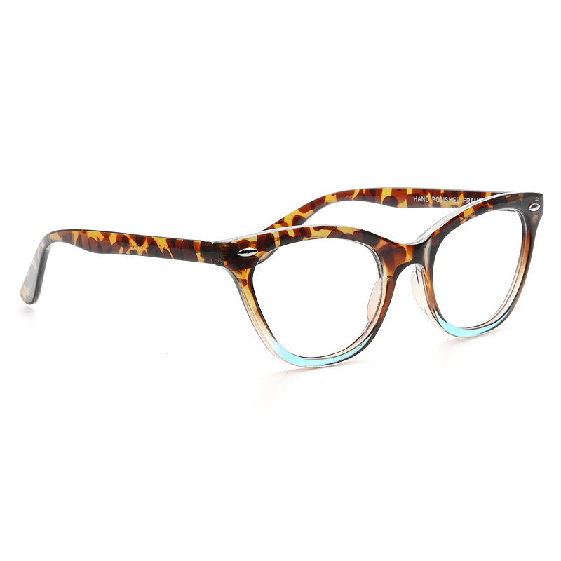 Special Edition Emma Ombre Cat Eye Clear Glasses