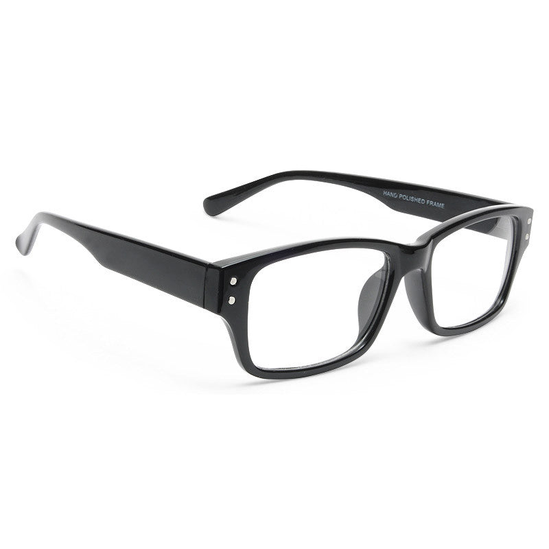 Alston Rectangular Skinny Clear Glasses
