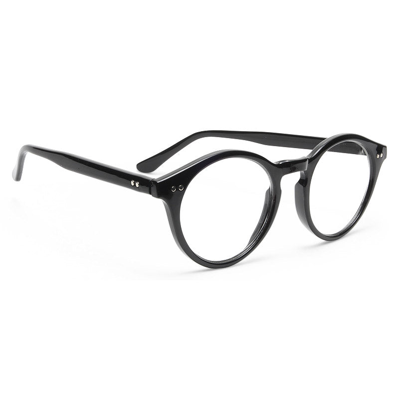 Chrissy Teigen Style Unisex Rounded Clear Glasses