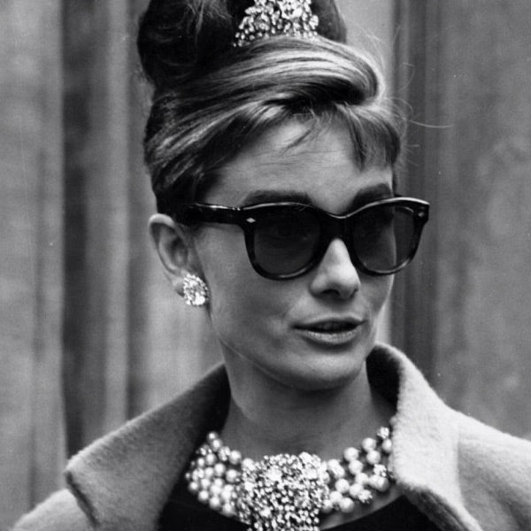 Audrey Hepburn Breakfast at Tiffanys Cat Eye Sunglasses