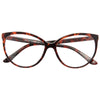 Alvina Thin Cat Eye Clear Glasses