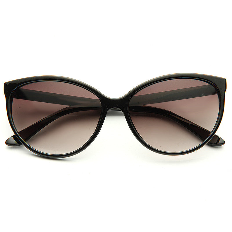 Alvina Thin Frame Cat Eye Sunglasses
