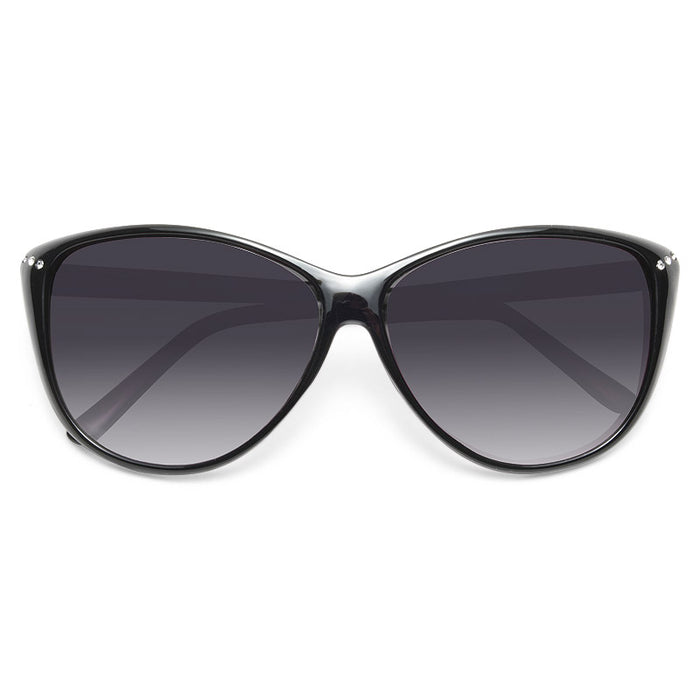 Aiden Oversized Rhinestone Cat Eye Sunglasses