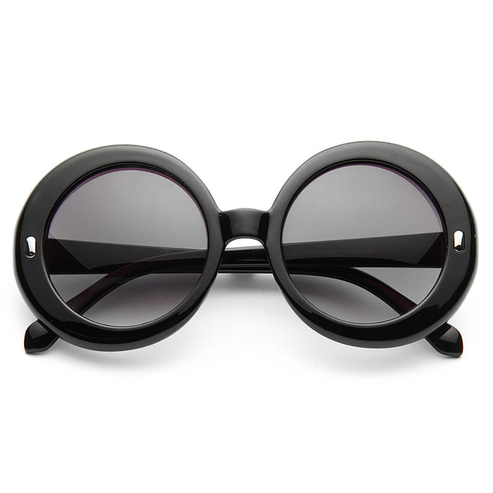 Jane Oversized Round Sunglasses