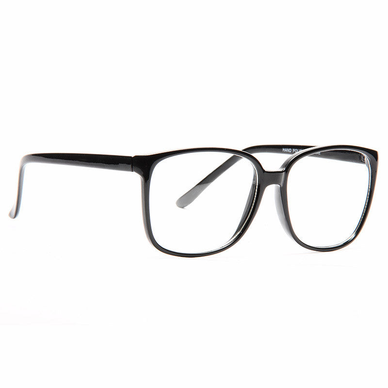 Wakefield Oversized Unisex Clear Glasses