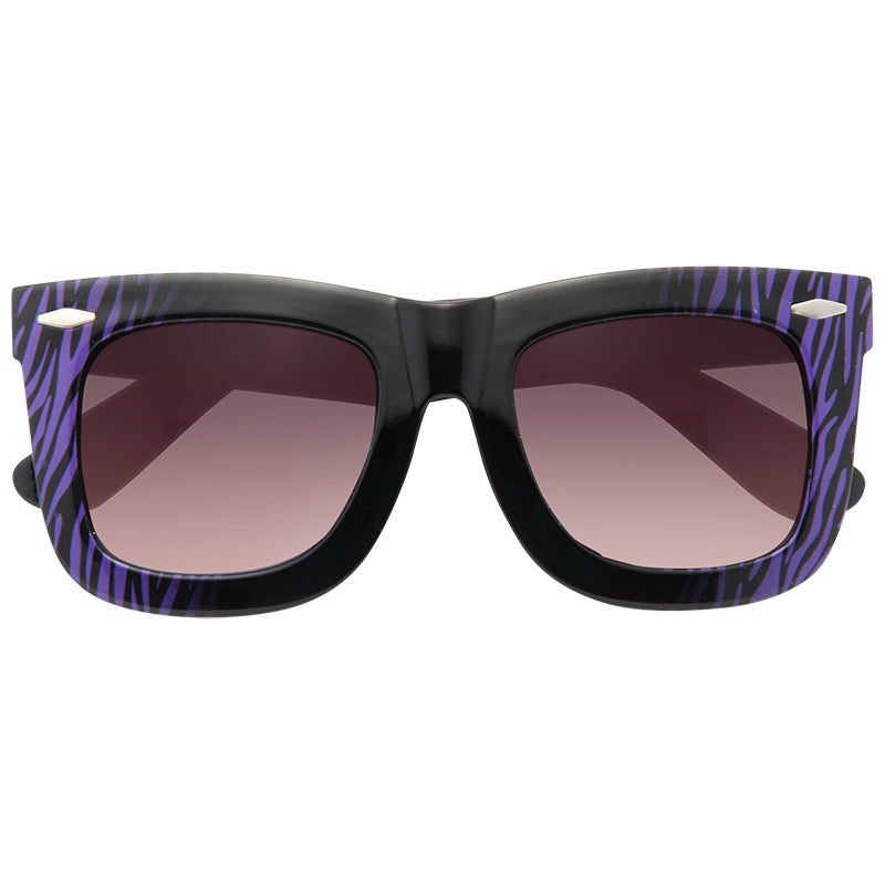 Blac Chyna Style Horn Rimmed Celebrity Sunglasses