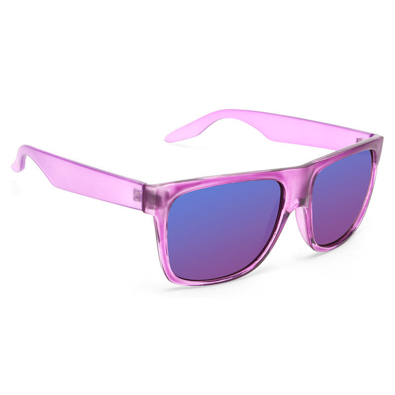Clayton Unisex Frosted Flat Sunglasses