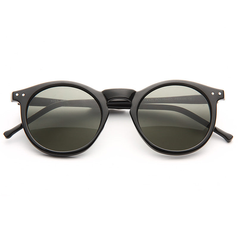 Andy Warhol Rounded Notch Bridge Sunglasses