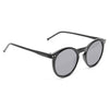 Alessandra Ambrosio Style Unisex Rounded Notch Bridge Sunglasses