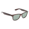 Houston Medium Solid Horn Rimmed Sunglasses