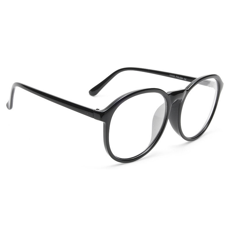 Smith Oversized Round Clear Glasses