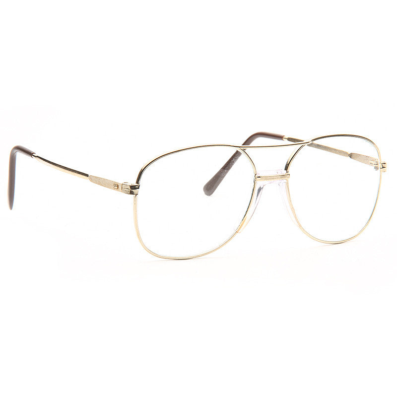 Lester Vintage Clear Aviator Glasses