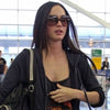 Megan Fox Style Oversized Accent Celebrity Sunglasses