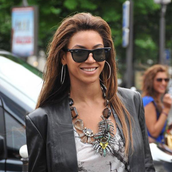 Beyonce Style X Large G 15 Horn Rimmed Sunglasses
