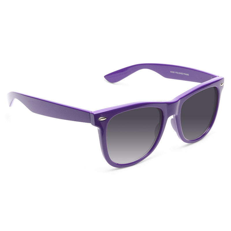 Dakota X Large Gradient Lens Horn Rimmed Sunglasses