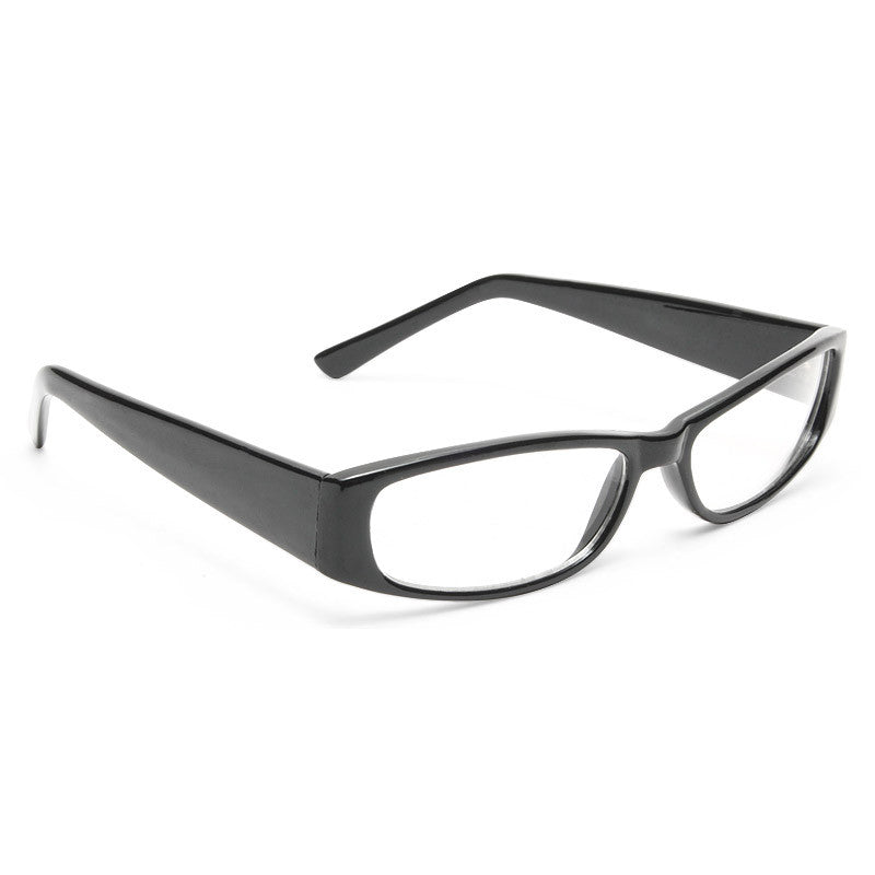 New York Squared Skinny Clear Glasses