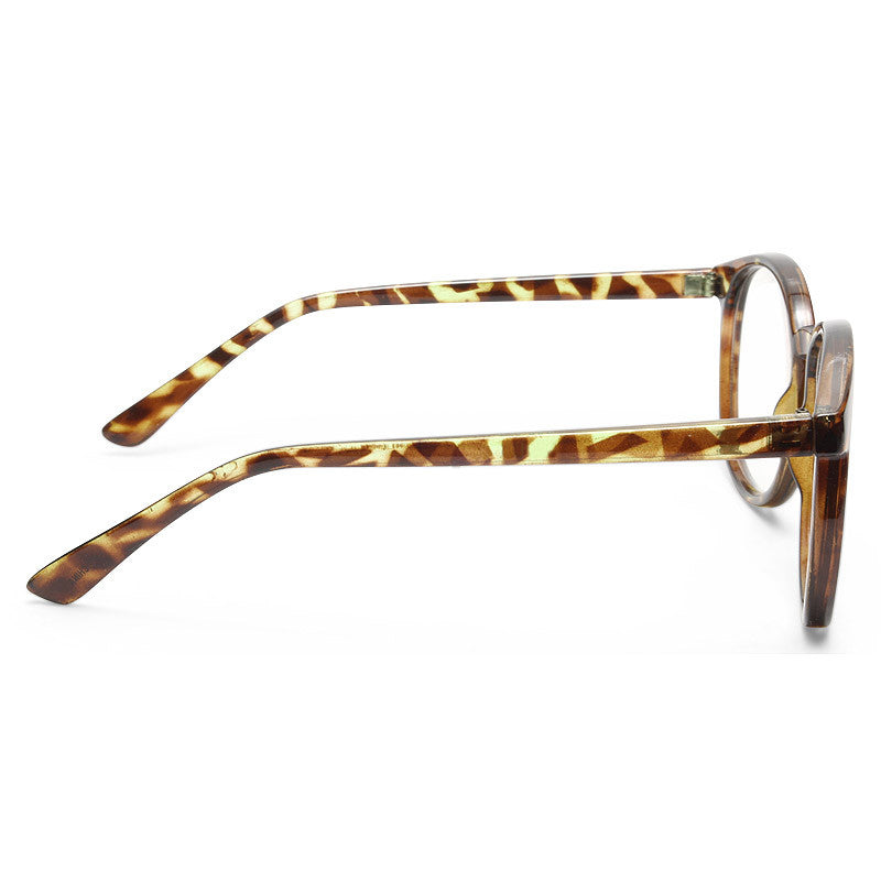 Depp Oversized Round Clear Frame Clear Glasses