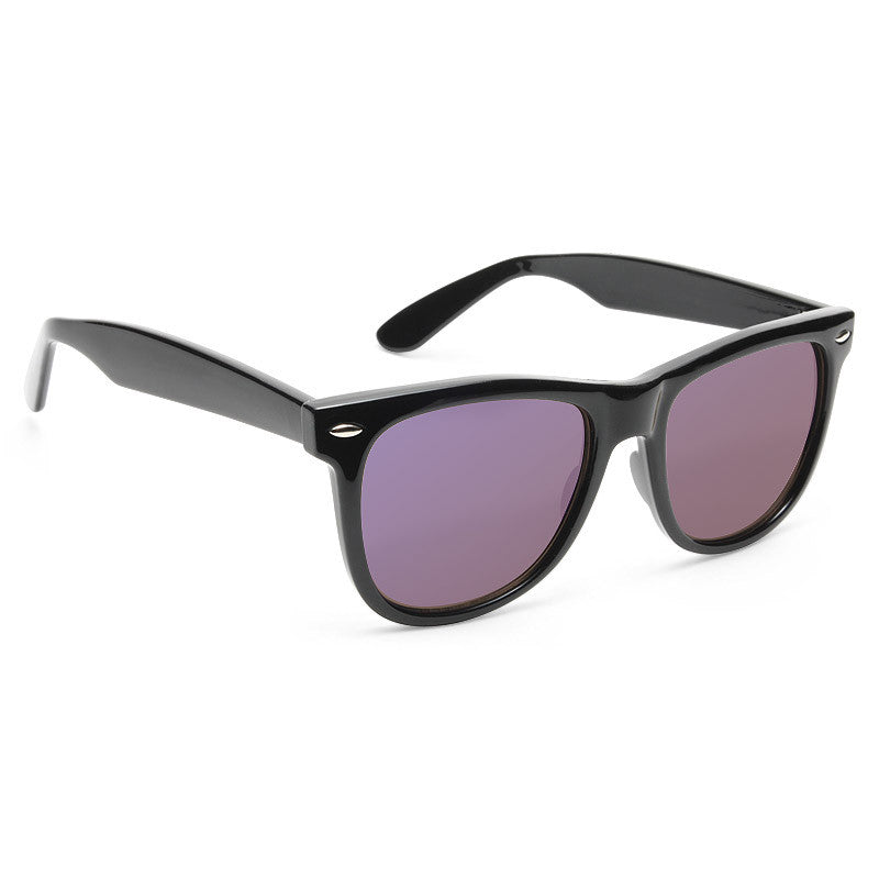 Dakota X-Large Color Mirror Horn Rimmed Sunglasses