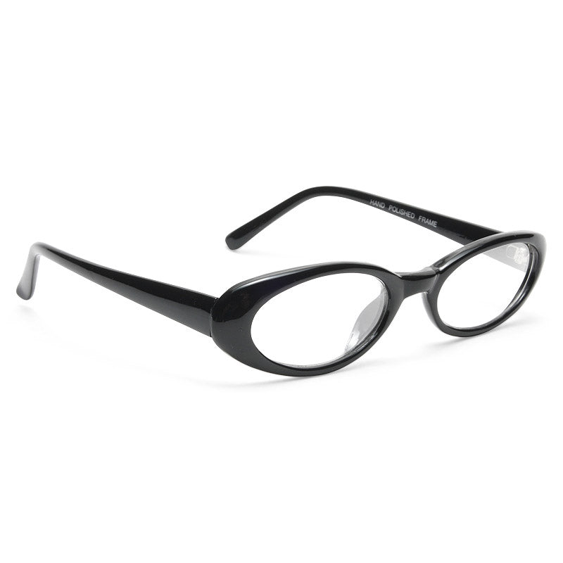 Chelsea Park Oval Skinny Clear Glasses