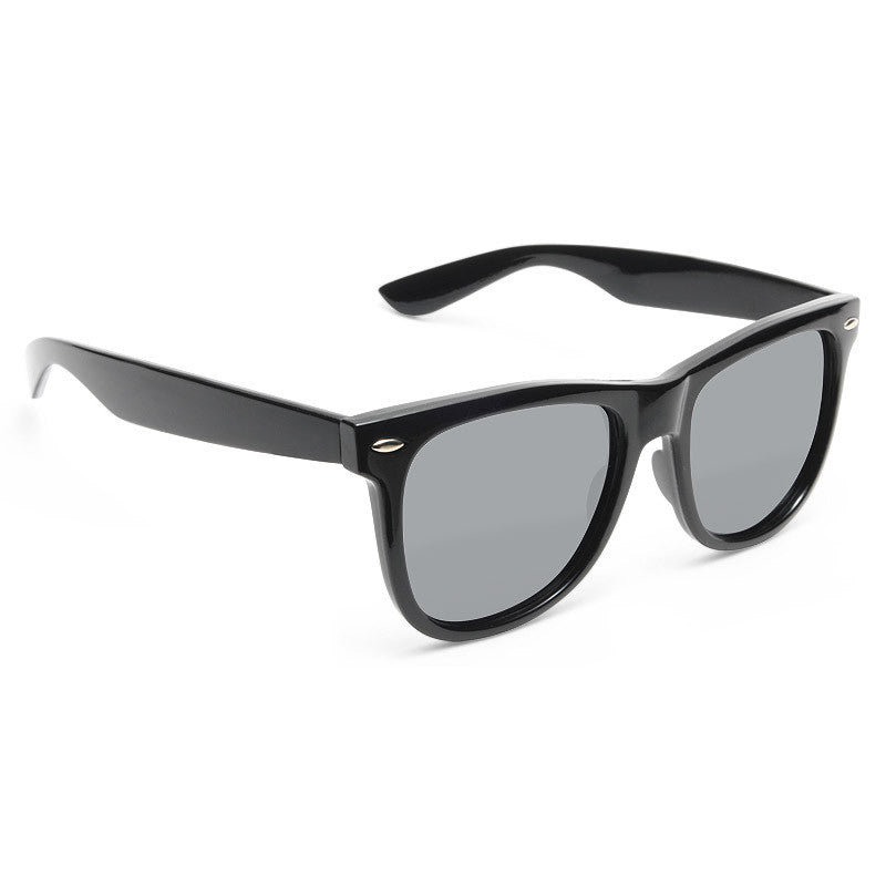 Dakota Luxe X Large Polarized Horn Rimmed Sunglasses