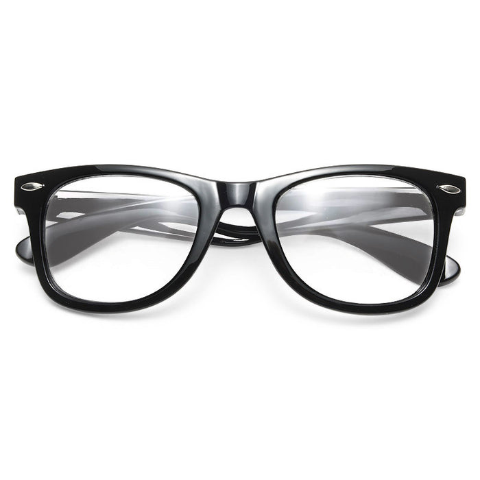 Mason Medium Clear Horn Rimmed Glasses