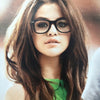 Selena Gomez Style Medium Horn Rimmed Celebrity Clear Glasses