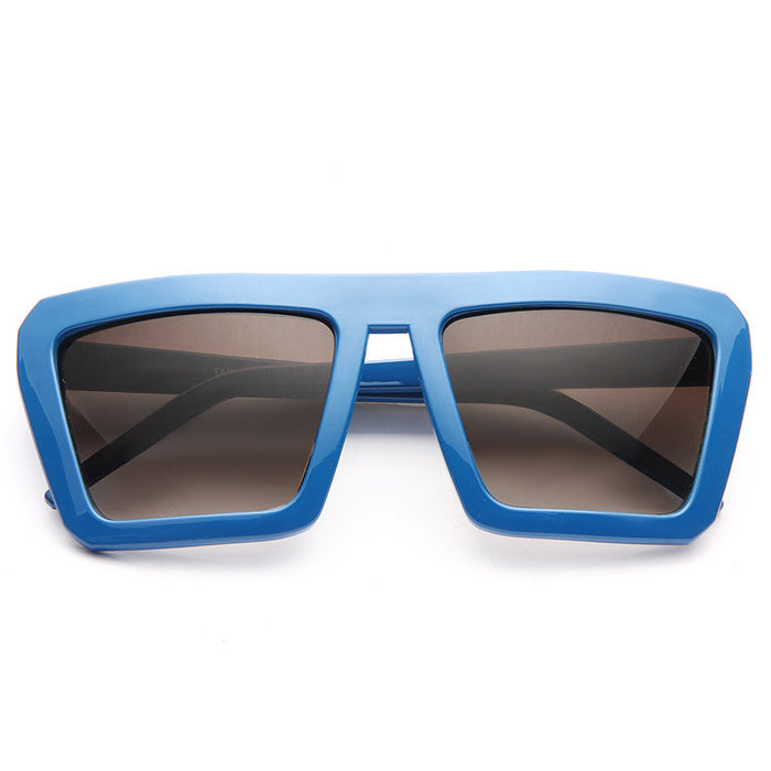 Derby Unisex Angular Mod Sunglasses