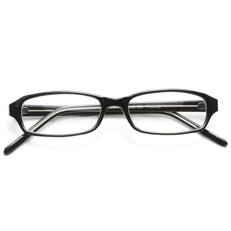 Lenox Hill Squared Skinny Clear Glasses