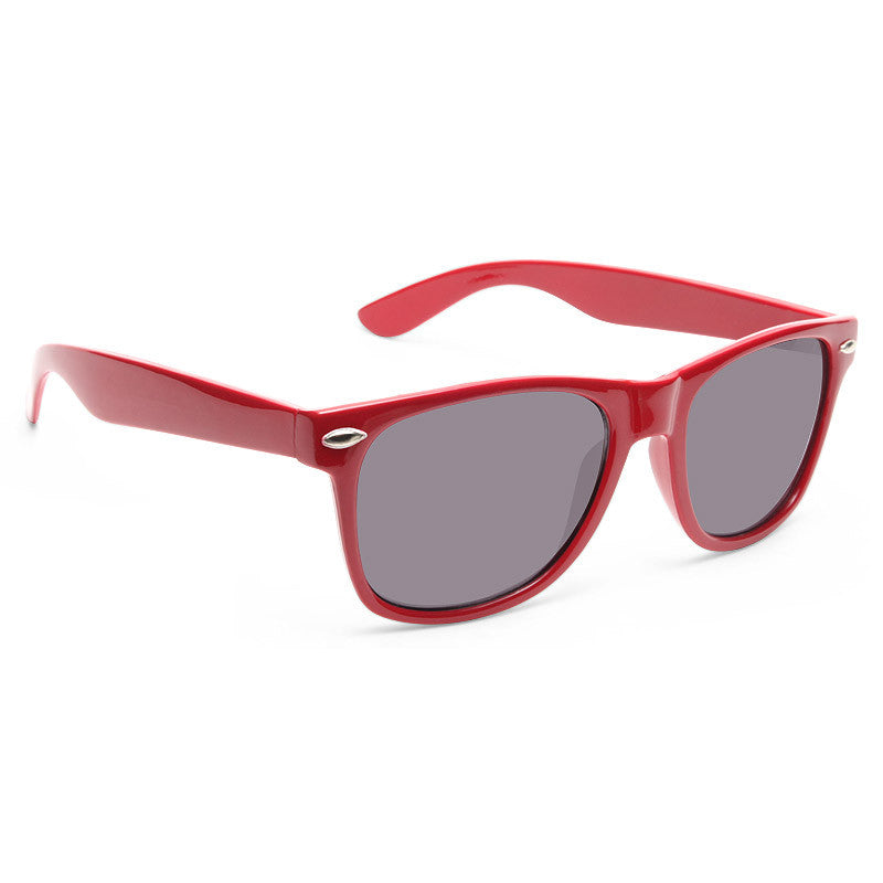 Jude Large Solid Horn Rimmed Sunglasses