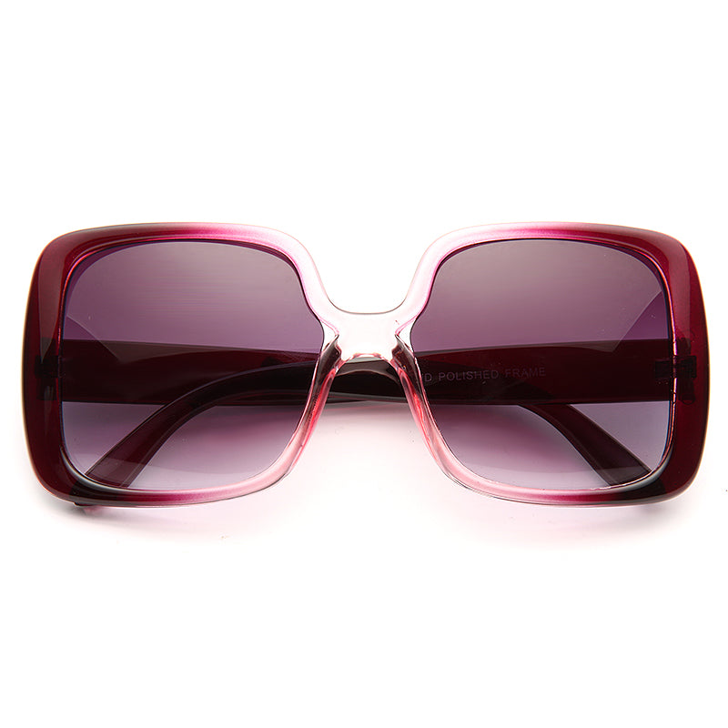 Jackie-O Oversized Square Sunglasses