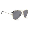 Classic 60mm Polarized Aviator Sunglasses