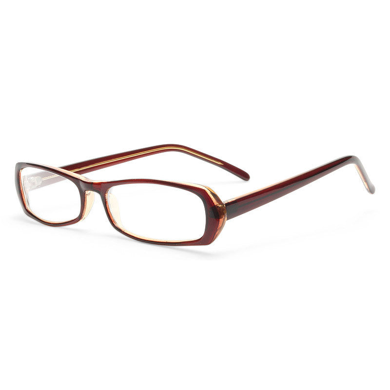 Jasper Chic Squared Skinny Clear Glasses