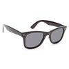 Mason Medium G 15 Green Lens Horn Rimmed Sunglasses