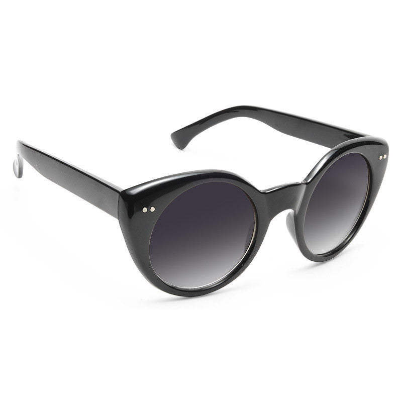 Demi Lovato Style Rounded Cat Eye Celebrity Sunglasses