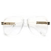 Harry 3 Oversized Square Clear Frame Clear Glasses