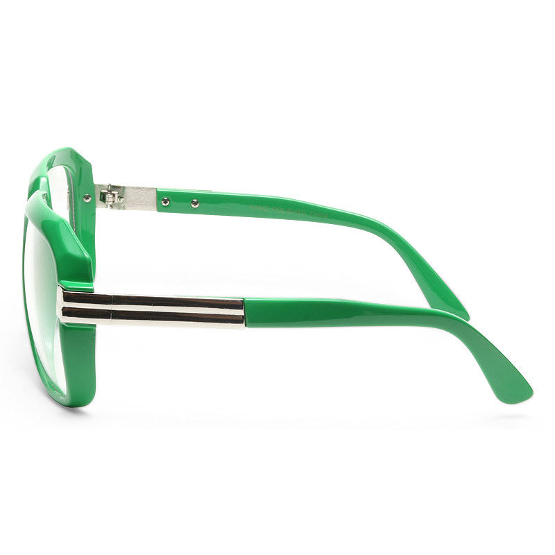Harry 3 Oversized Square Clear Glasses