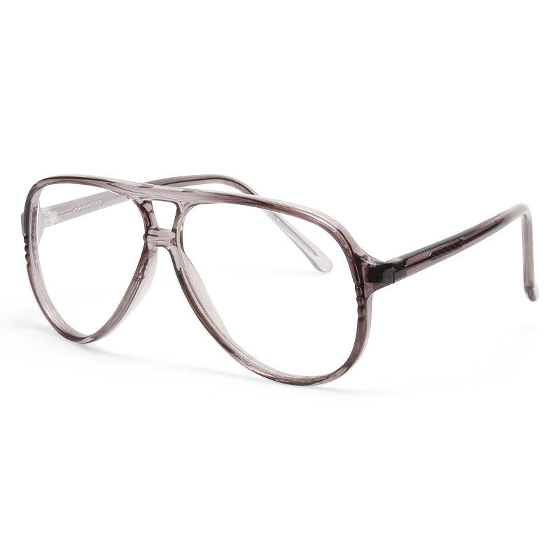 Oswald Vintage Clear Aviator Glasses