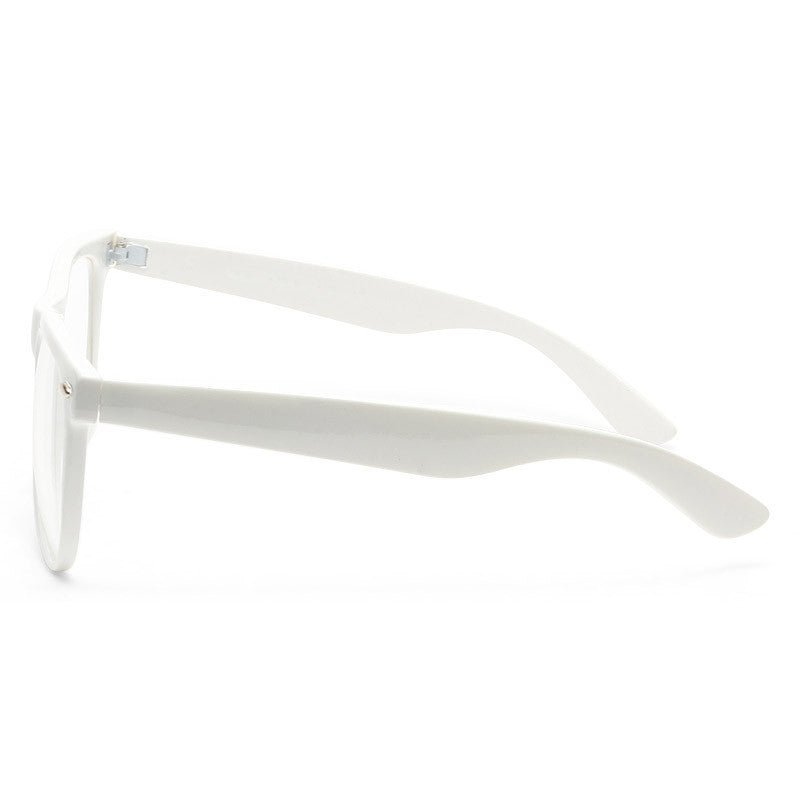 Dakota X Large Clear Horn Rimmed Glasses