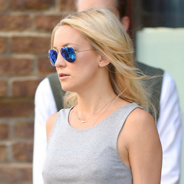 Kate Hudson Style 58Mm Color Mirror Aviator Sunglasses
