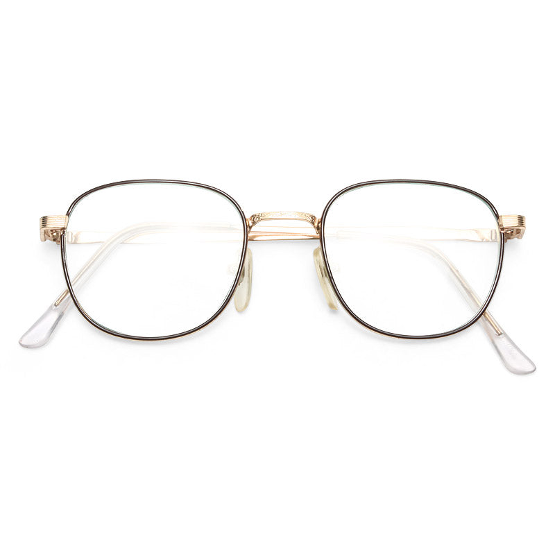 Ursula Vintage Rounded Clear Glasses