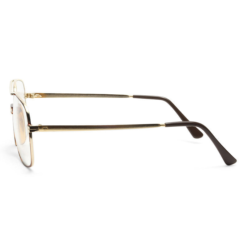 Chester Vintage Clear Aviator Glasses