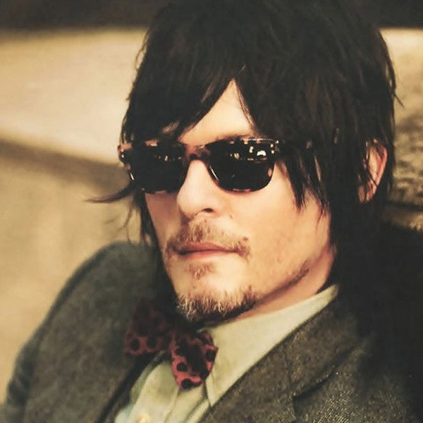 Norman Reedus Style Horn Rimmed Sunglasses