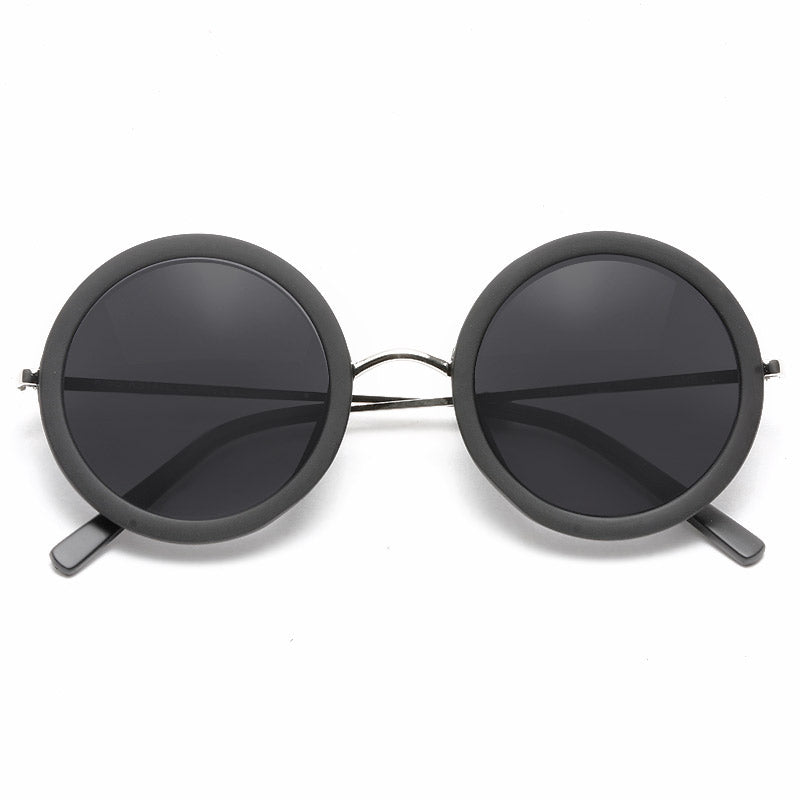 Khloe Oversized Thick Round Sunglasses