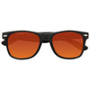 Jude Large Blue Blocker Wayfarer Sunglasses