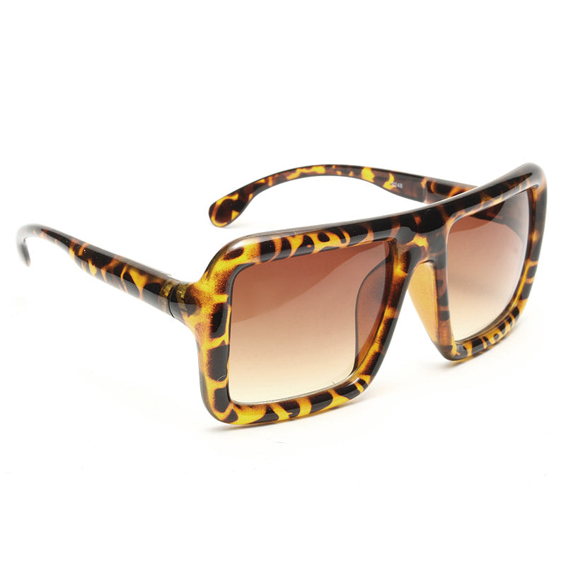 Berlin Oversized Flat Top Sunglasses