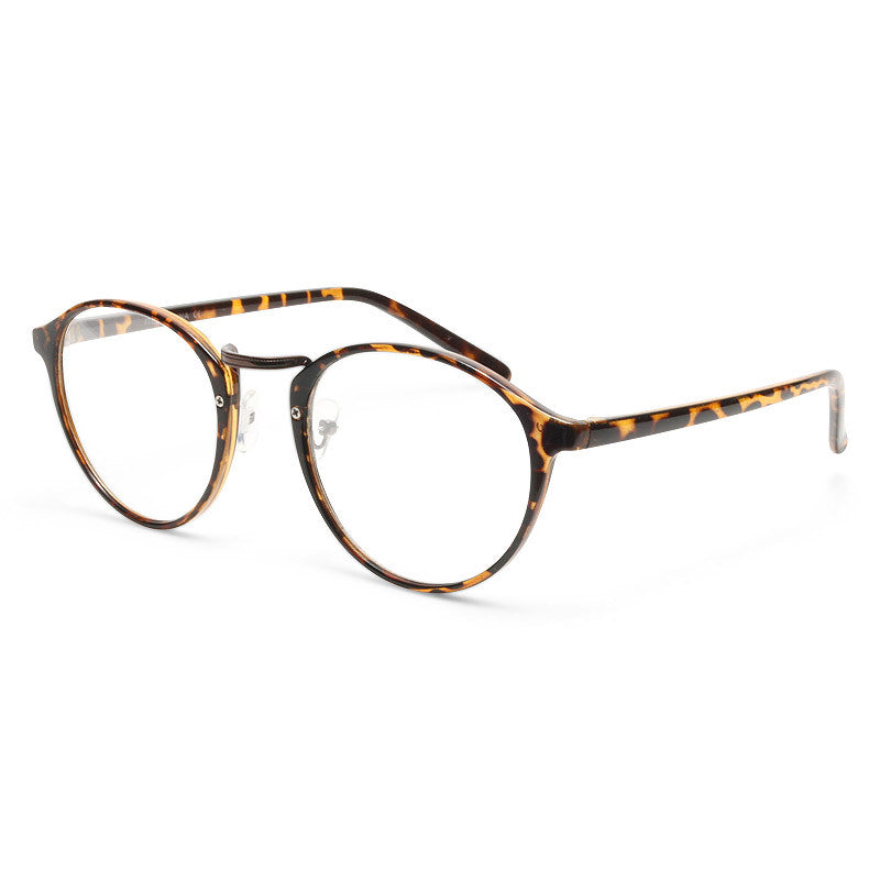 Diane Thin Round Clear Glasses