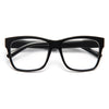 Ashley Benson Style Unisex Horn Rimmed Celebrity Clear Glasses