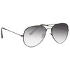 Kendall Jenner Gradient Lens Aviator Celebrity Sunglasses