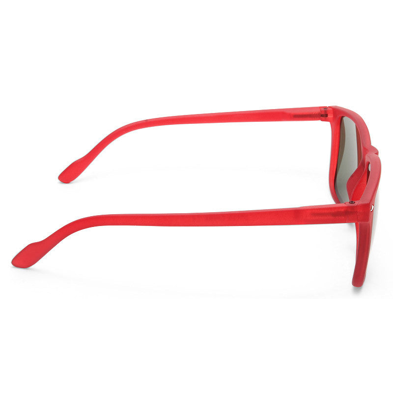 Indiana Rubber Coated Horn Rimmed Sunglasses