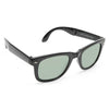 Mason Medium Folding Horn Rimmed Sunglasses